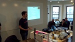 Mike Armani reviews the workshop's agenda and take-home points
