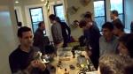 David Jones (left) demonstrates a 3D-printed component at a Feb. 2013 workshop hosted at PunchRock