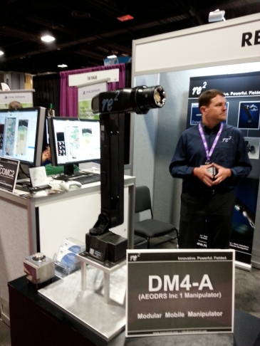 Re2 demonstrated new lightweight robotic arm