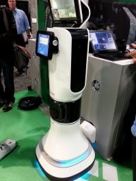 iRobot presented the RP-VITA remote presence system